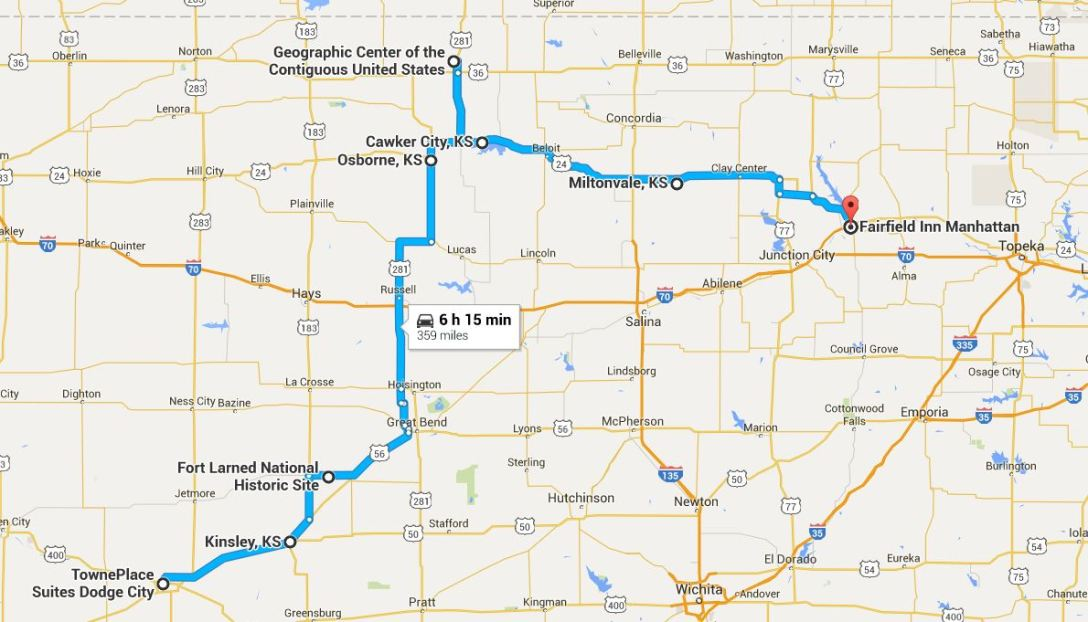 2016-05-15 Google Dodge City to Manhattan 2