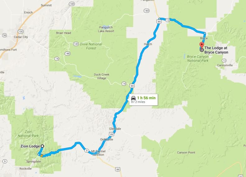 2016-08-02 Google Zion to Bryce