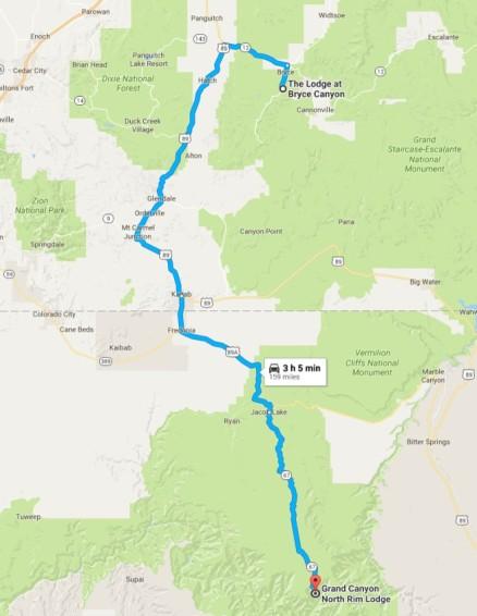 2016-08-03 Google Bryce to North Rim