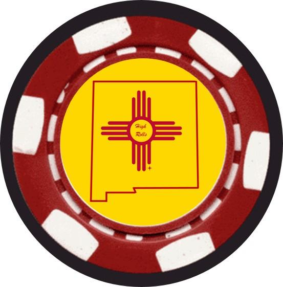 Poker chip Back