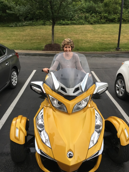 Motorcycle Mama Lisa