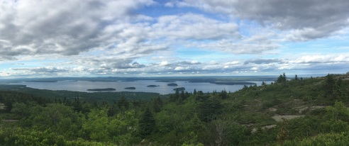 From Cadillac Mountain peak